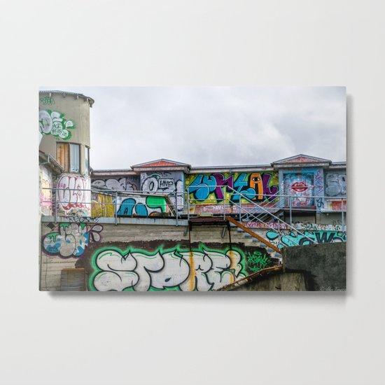Urban Assault Metal Print
