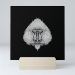 Icons of Africa - Mandrill Mini Art Print