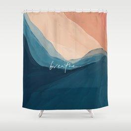 breathe. Shower Curtain