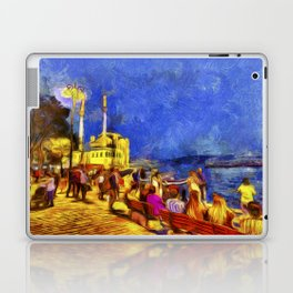 Istanbul At Night Van Gogh Laptop & iPad Skin
