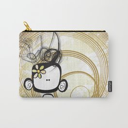 swirl girl Carry-All Pouch