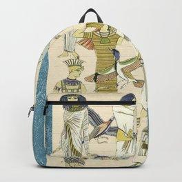 Vintage Egyptian Women Backpack