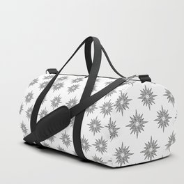 Surf in a windrose – compass (tattoo style) Duffle Bag