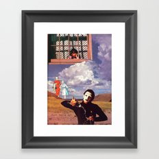 Mime Framed Art Print