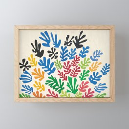 Leaf Cutouts by Henri Matisse (1953) Framed Mini Art Print
