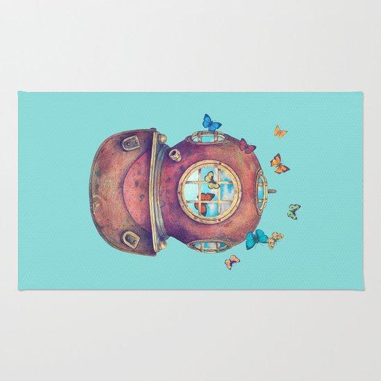 Inner Space - colour option Rug