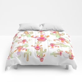 Cactus Family Day Comforters