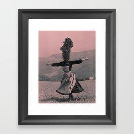 Mind Blown Framed Art Print