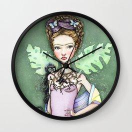 Frida Kahlo inspired, -FRIDITA- (Little Frida)  Wall Clock