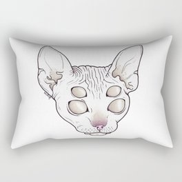 Alien Kitty Rectangular Pillow