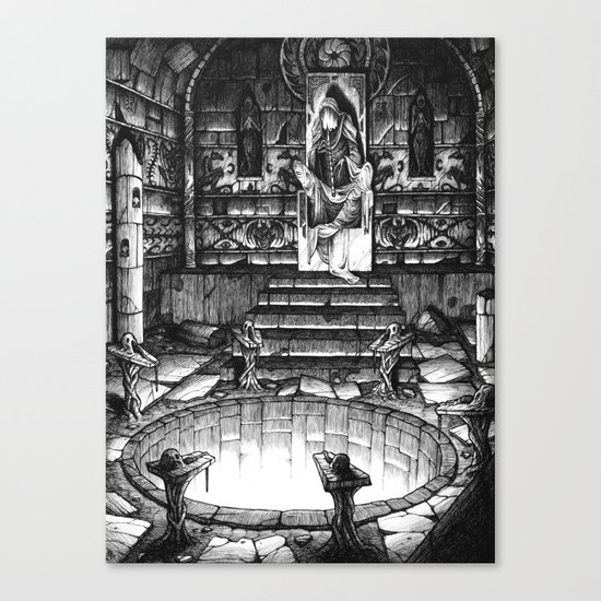 The High Priest Canvas Print