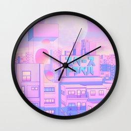 Future Nostalgia Wall Clock