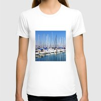 marina T-shirts featuring Marina Forest by Ken Seligson