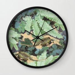 The Lizard Lounge Wall Clock
