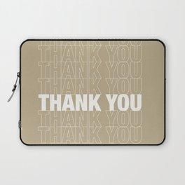 THANK YOU Laptop Sleeve