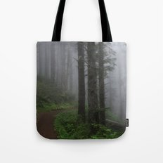 Forest of Fog Tote Bag
