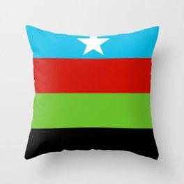 Somali Bantu Liberation Movement Flag Throw Pillow