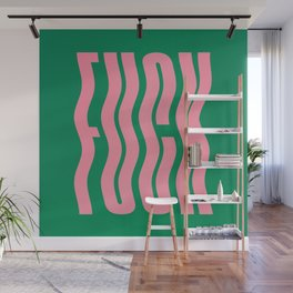 Favorite Word: Tropical Wavy Edition Wall Mural