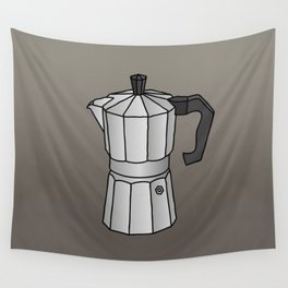 Espresso coffee maker Wall Tapestry
