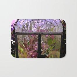 Green House Orchids Bath Mat