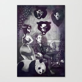 The Joneses Canvas Print