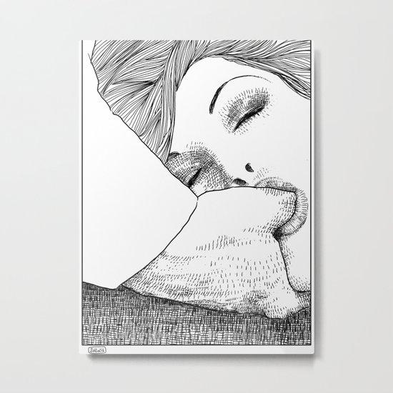 asc 28 - L'invitation Metal Print