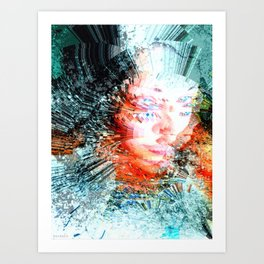 Ice Queen Art Print