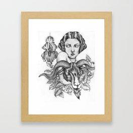 Bride of Baphomet Framed Art Print