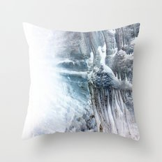 Ice Scape 3 Throw Pillow