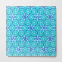 Blue Syringa Metal Print