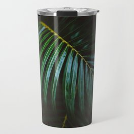 Leaves In The Dark Travel Mug