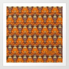Slow Sloth Art Print