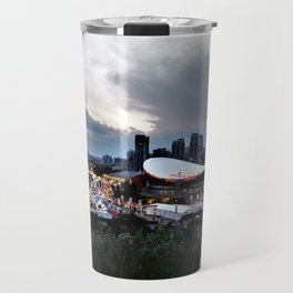 The City Of Calgary Travel Mug