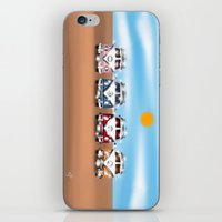 vans iPhone & iPod Skins featuring VW Cammper Vans by Woofer