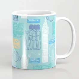 Queen and Country - Mint Coffee Mug