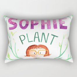 All about sophie Rectangular Pillow