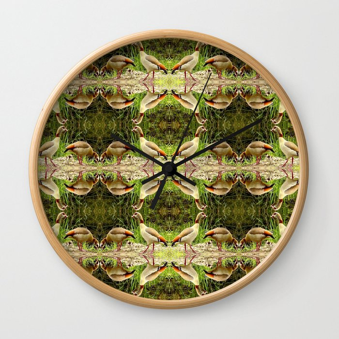Egyptian Geese 2 Wall Clock