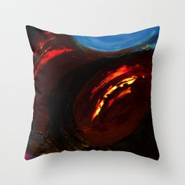 Abstract Untitled by Robert S. Lee Throw Pillow