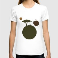 africa T-shirts featuring AFRICA by J ō v