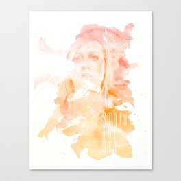 Stain The Sky Canvas Print