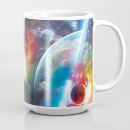 Thru the Clounds and in to the Stars Coffee Mug