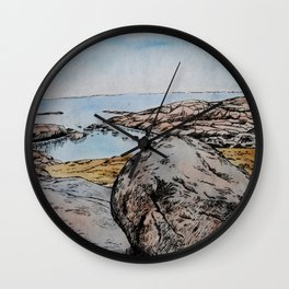 Take Me Down To The Water  Wall Clock