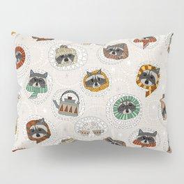 hygge raccoons Pillow Sham