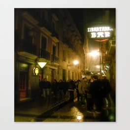 Nights in Bilbao Canvas Print