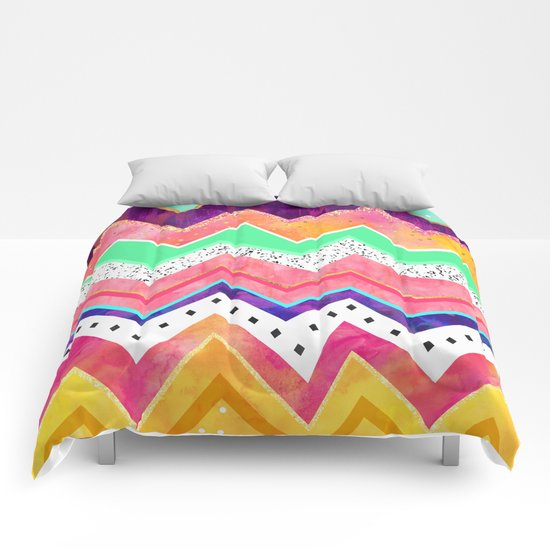 Ice Cream Land Comforters