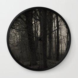 Winterscenery Wall Clock