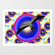 Swallow tailed Kite 3 Art Print