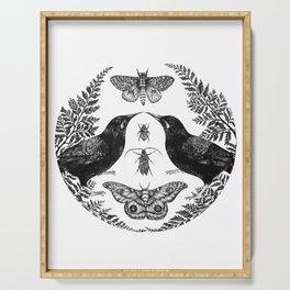 Sacred Symmetry - Tīeke Serving Tray