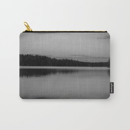 Black and White Sunset on Little Loon Carry-All Pouch
