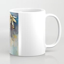 Purple Dream Garden, watercolor explorations Coffee Mug
